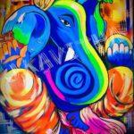 Colourful Ganesha